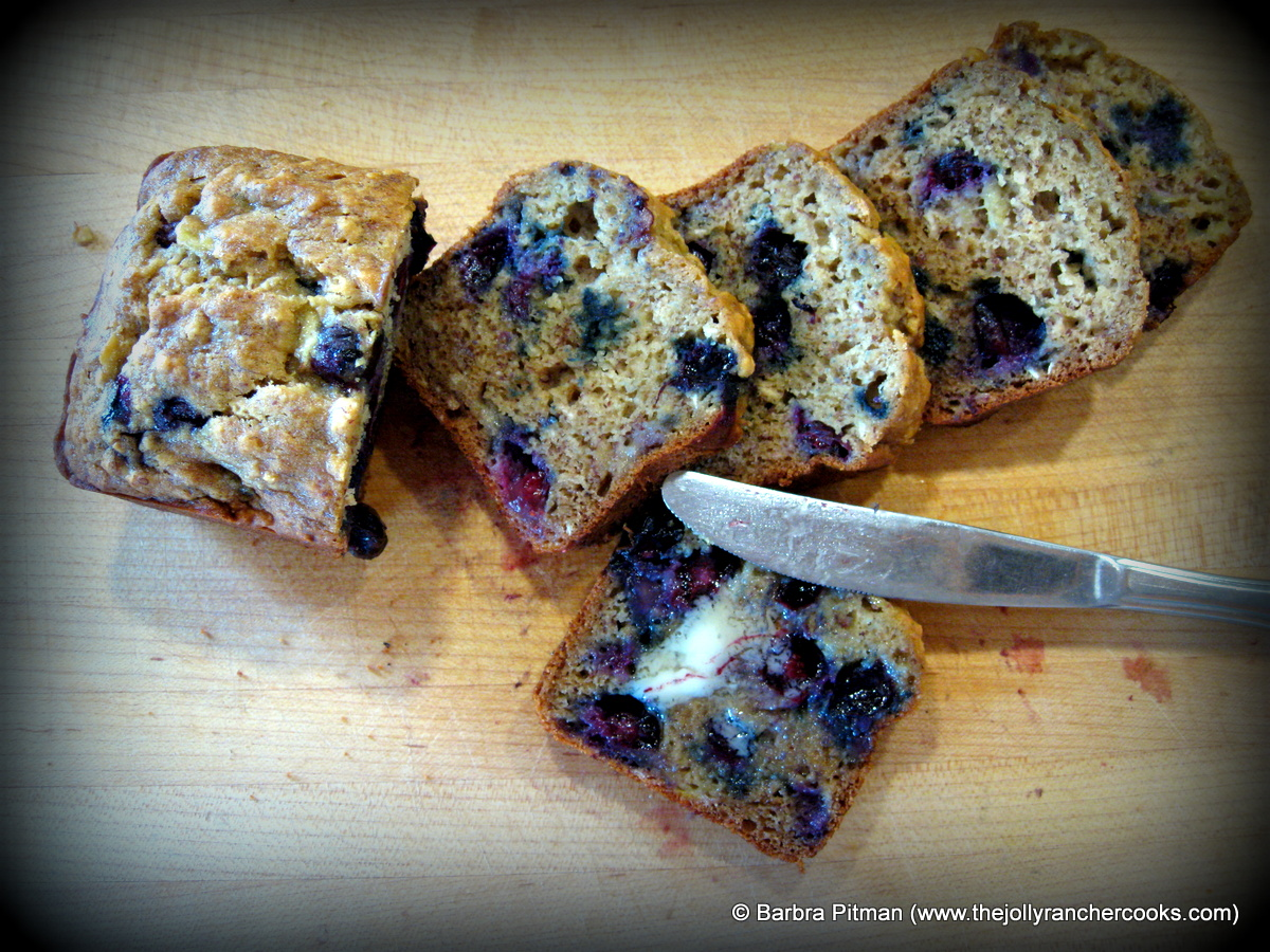 Blueberry Banana Bread—Gluten Free | The Jolly Rancher Cooks